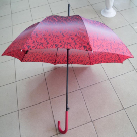 Зонт женский трость 119