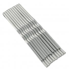 Невидимка  серебро /50шт