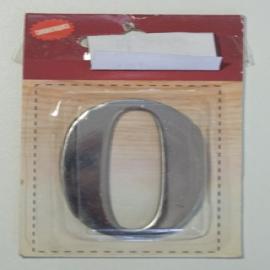 Номер дверной KORAL (0)металл (блистер)