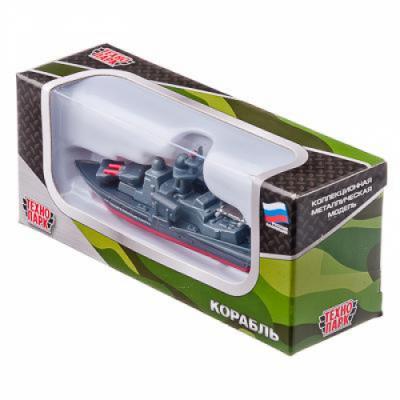 Корабль, металл, пластик, 7см, SB-16-02-BO-M ТЕХНОПАРК