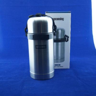 Термос металлический SL-100 MR 1 литр широкое горло